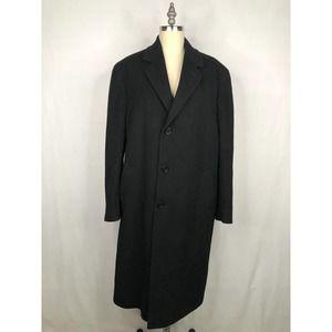 Giovane Moda • Wool / Cashmere Trench Coat Black